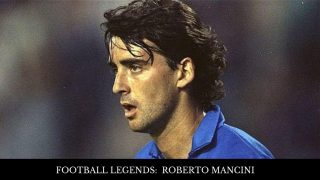Football Legend: Roberto Mancini